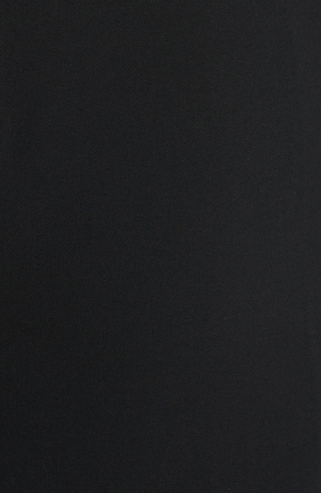 Alternate Image 3  - Burberry London Leather Sleeve Dress