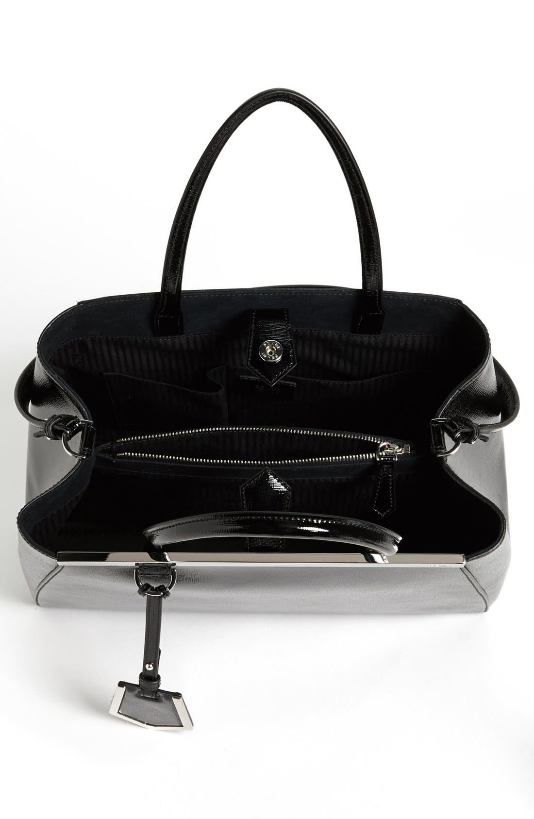 Alternate Image 3  - Fendi 'Medium 2Jours' Leather Shopper