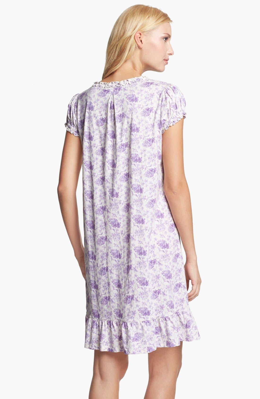 Alternate Image 2  - Lauren Ralph Lauren 'Dunmore' Cotton Jersey Nightgown