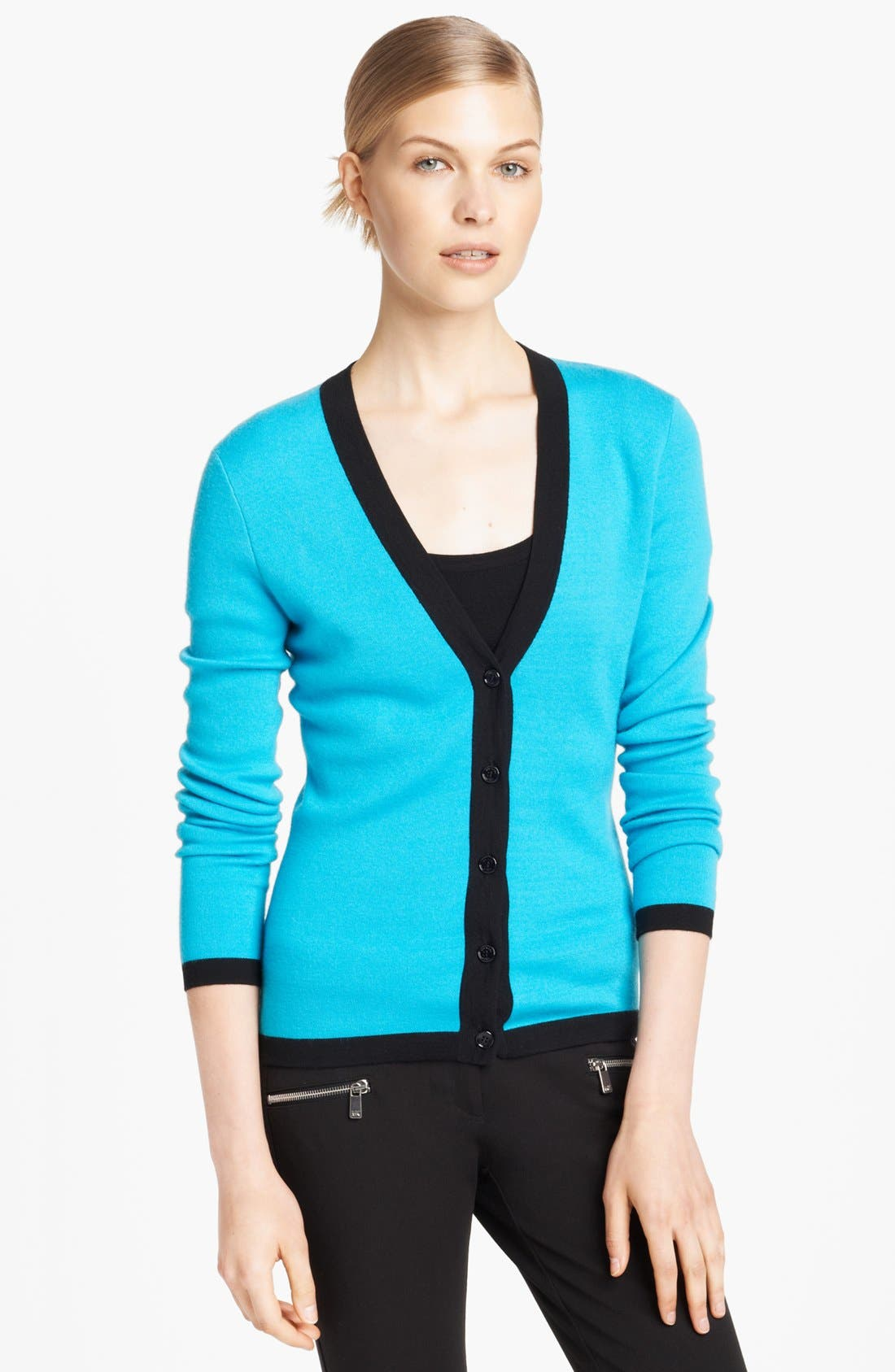Alternate Image 1 Selected - Michael Kors Cashmere Cardigan
