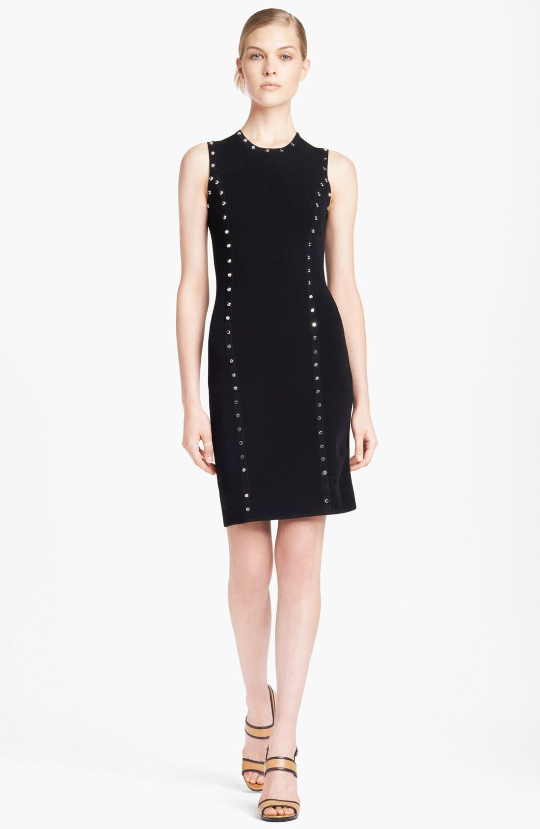 Alternate Image 1 Selected - Michael Kors Studded Knit Dress