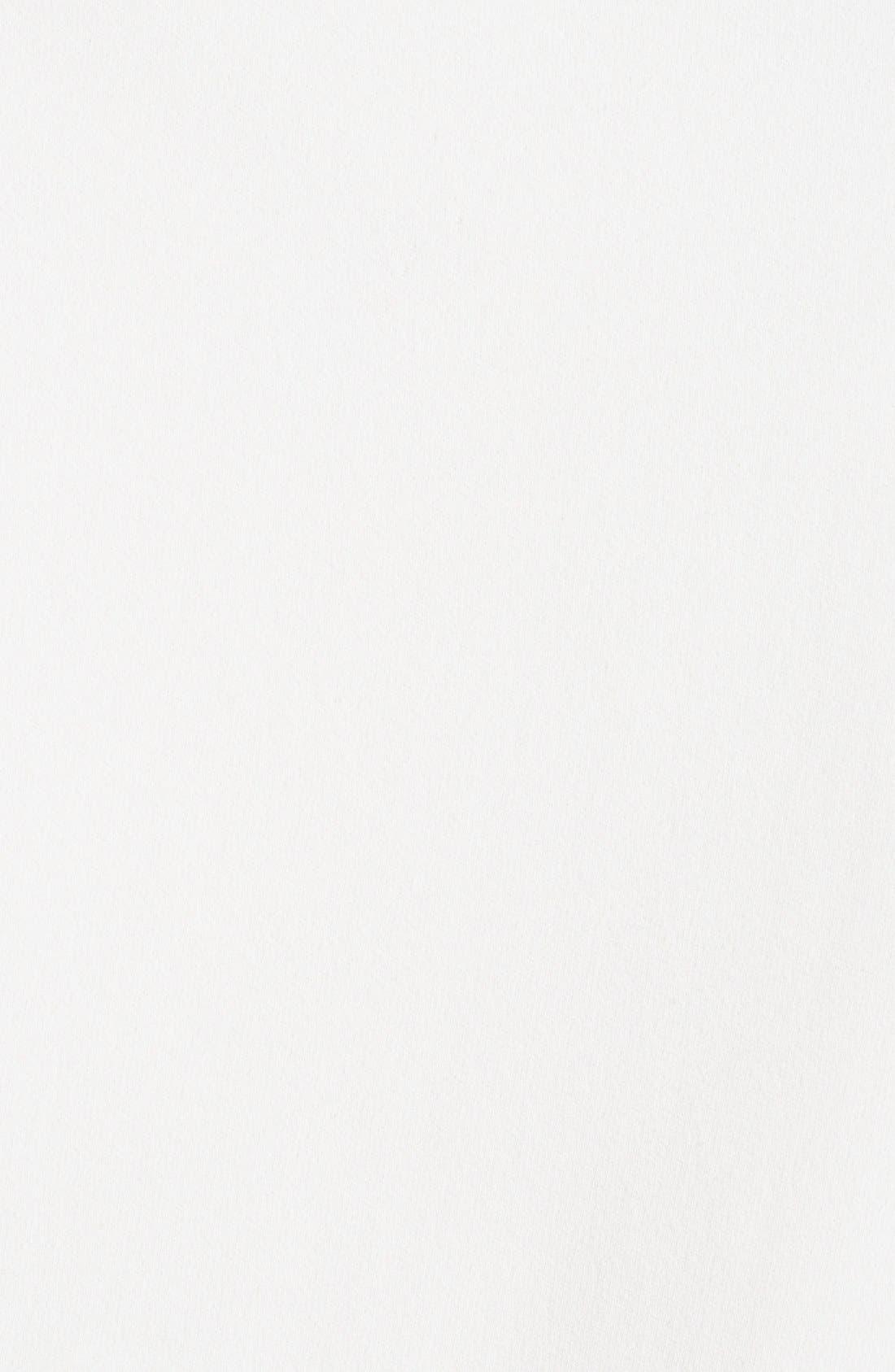 Alternate Image 2  - Donna Karan Collection Asymmetrical Matte Crepe Blouse