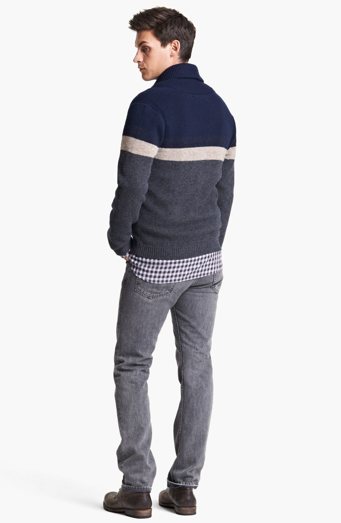 Alternate Image 5  - rag & bone 'Teddy' Shawl Cardigan