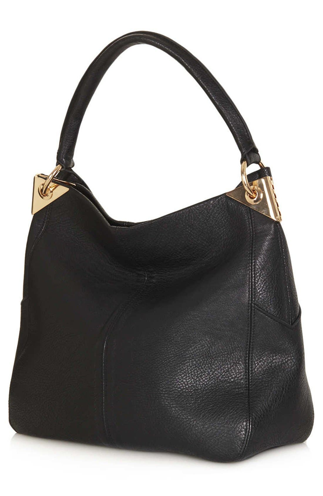 Alternate Image 4  - Topshop Hinged Hobo Bag