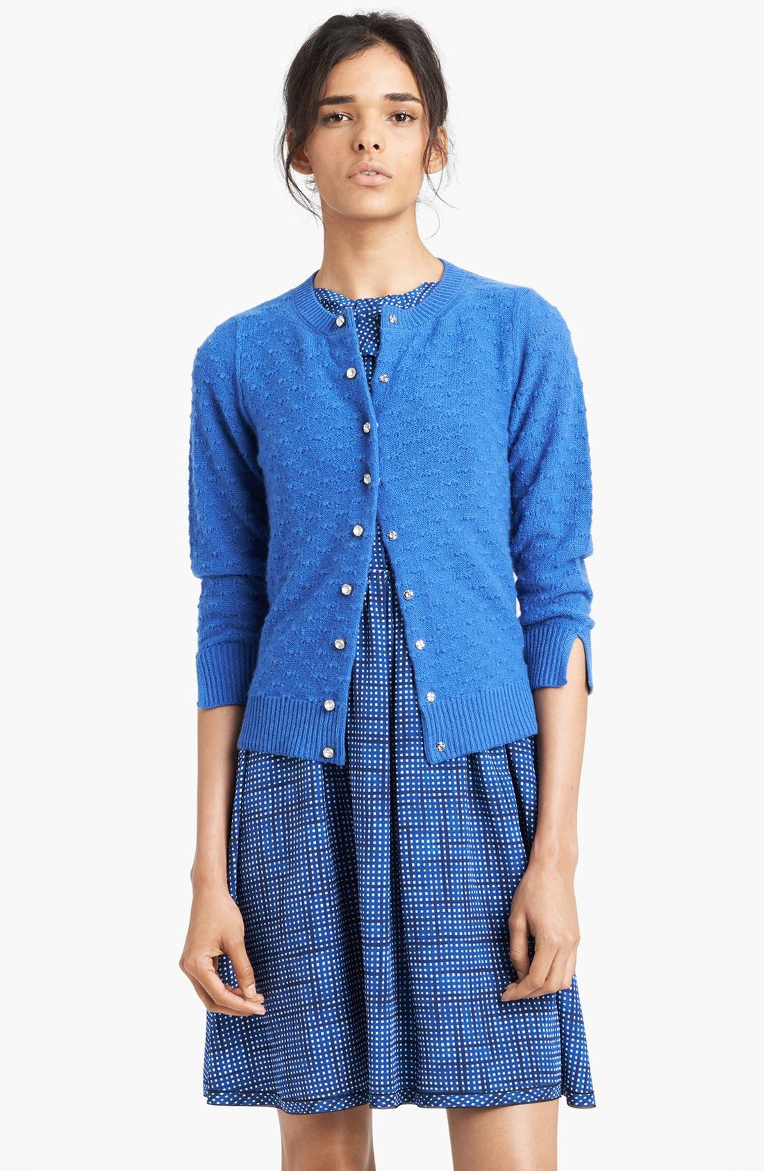Alternate Image 1 Selected - MARC JACOBS Jewel Button Cashmere Cardigan