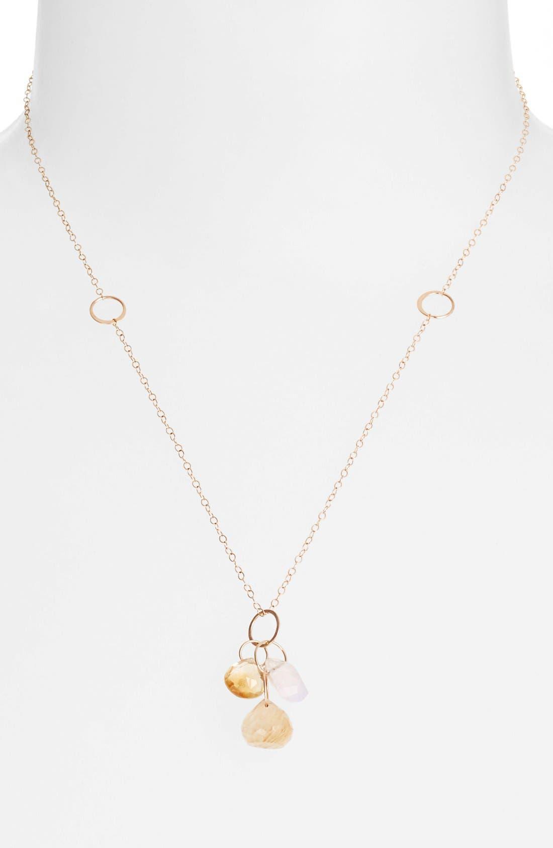 Alternate Image 1 Selected - Melissa Joy Manning Cluster Pendant Necklace