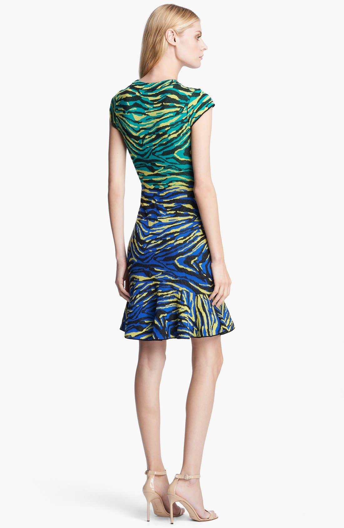 Alternate Image 2  - M Missoni Zebra Jacquard Dress