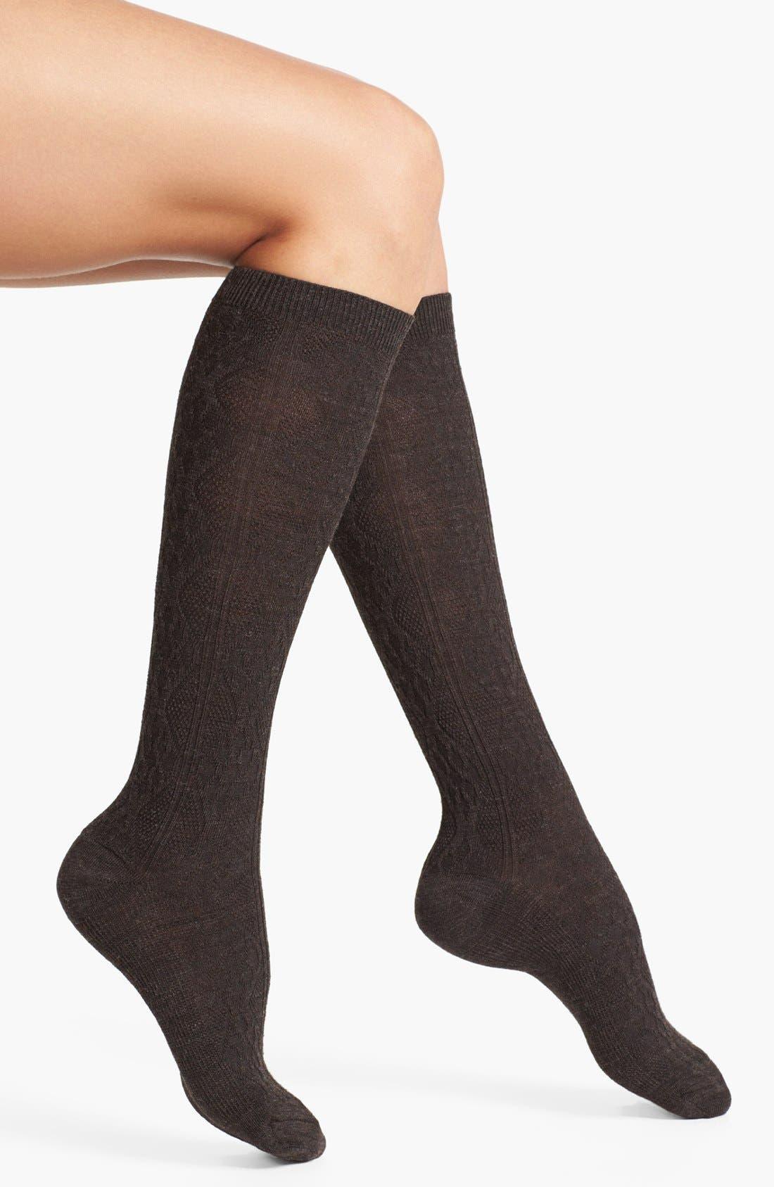 Alternate Image 1 Selected - Smartwool 'Trellis' Wool Blend Knee Highs