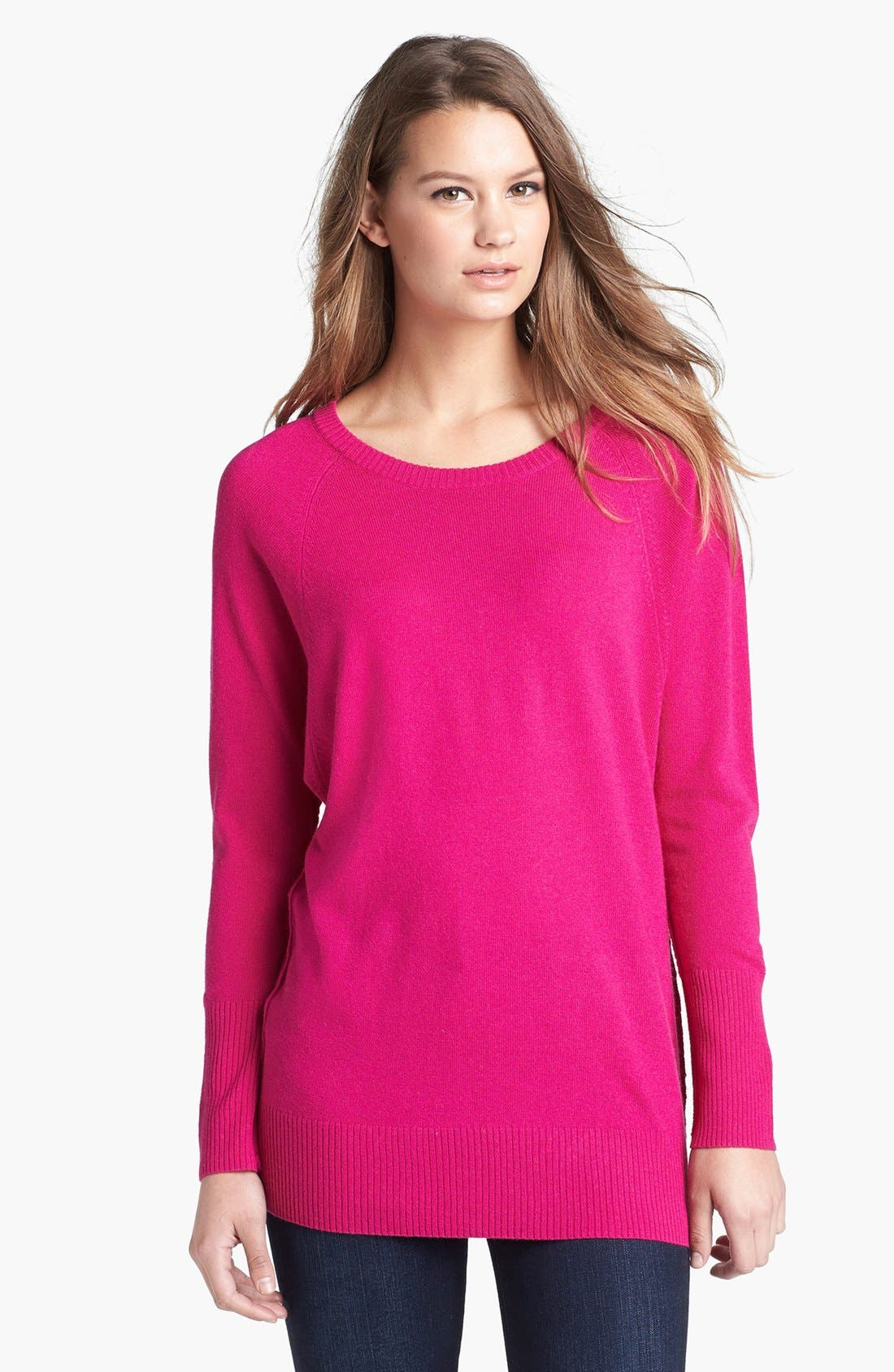 Alternate Image 1 Selected - Halogen® Raglan Seam Dolman Sleeve Sweater