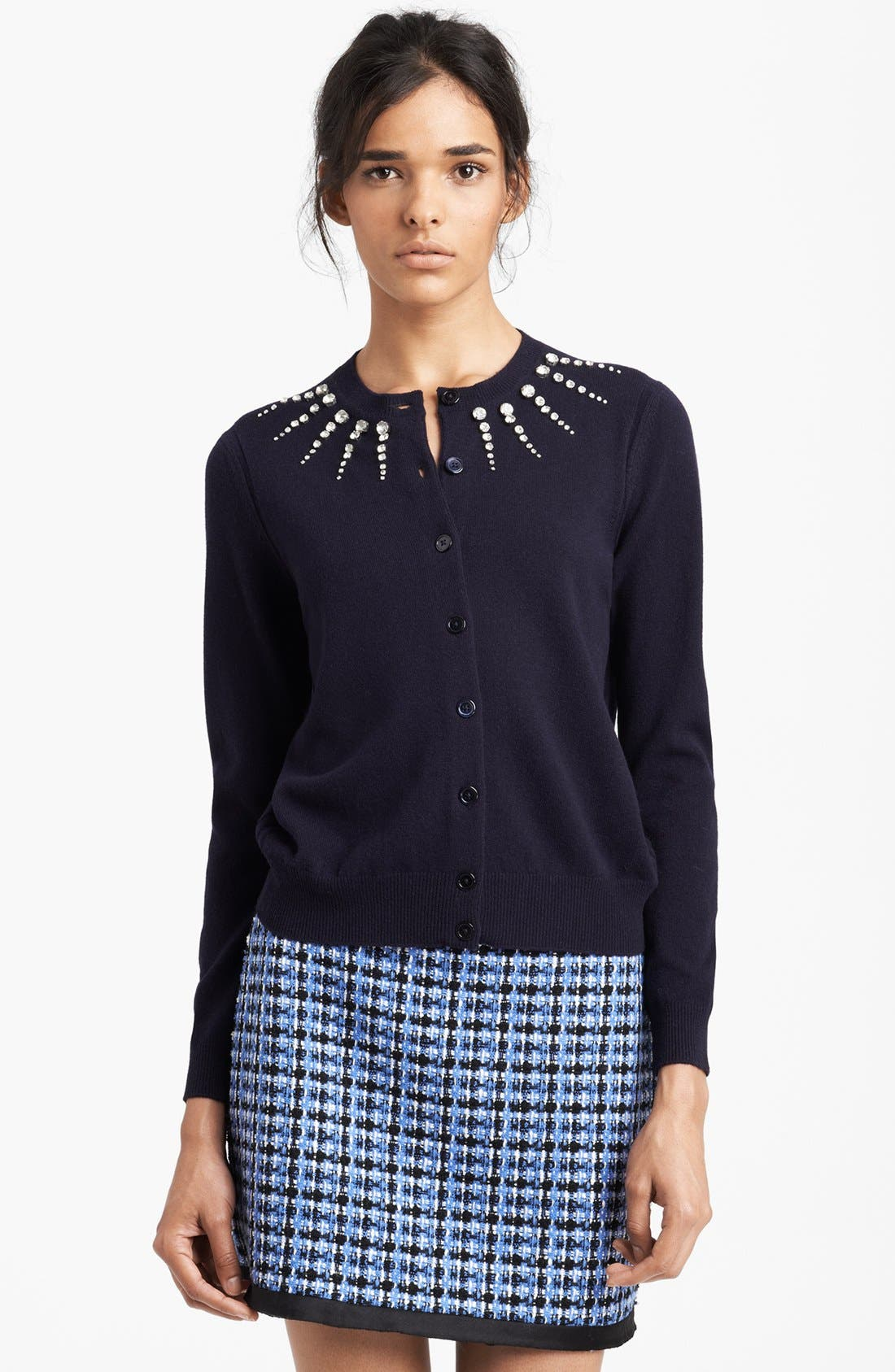 Main Image - MARC JACOBS Jewel Embroidered Cardigan