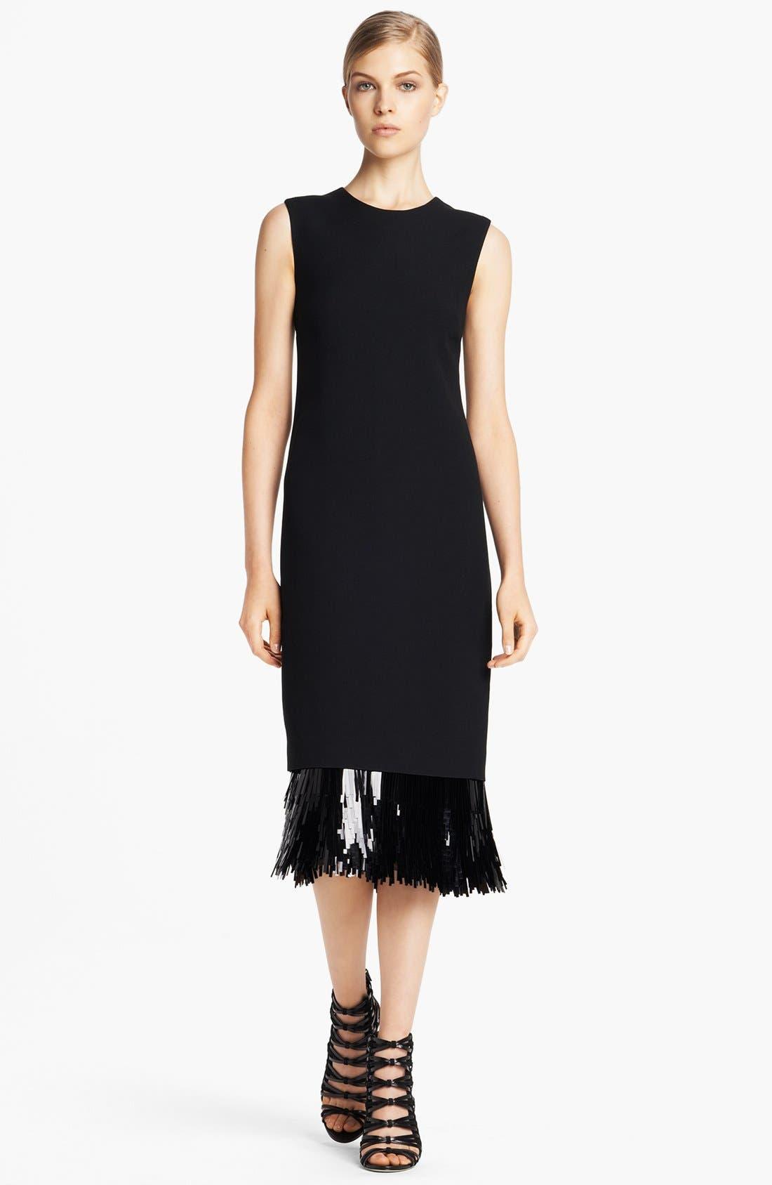 Alternate Image 1 Selected - Jason Wu Fringe Cut Sequin Sheath Dress