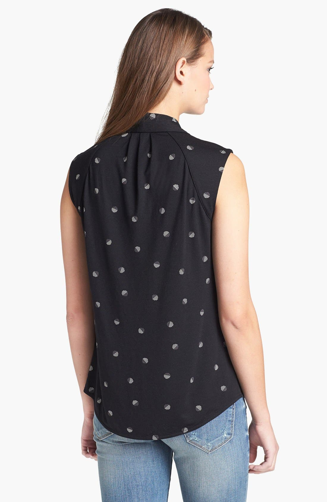 Alternate Image 2  - Halogen® Tie Neck Sleeveless Top