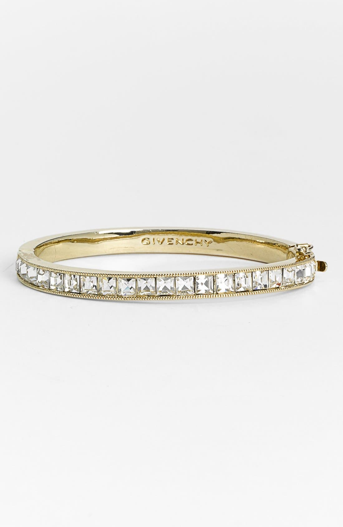 Alternate Image 1 Selected - Givenchy Square Crystal Hinge Bangle