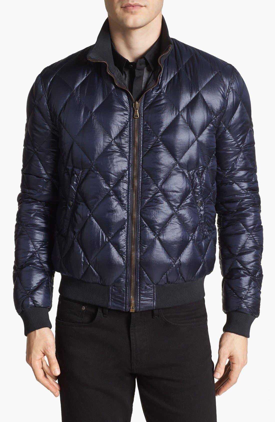 Main Image - Burberry Brit 'Martyn' Reversible Jacket