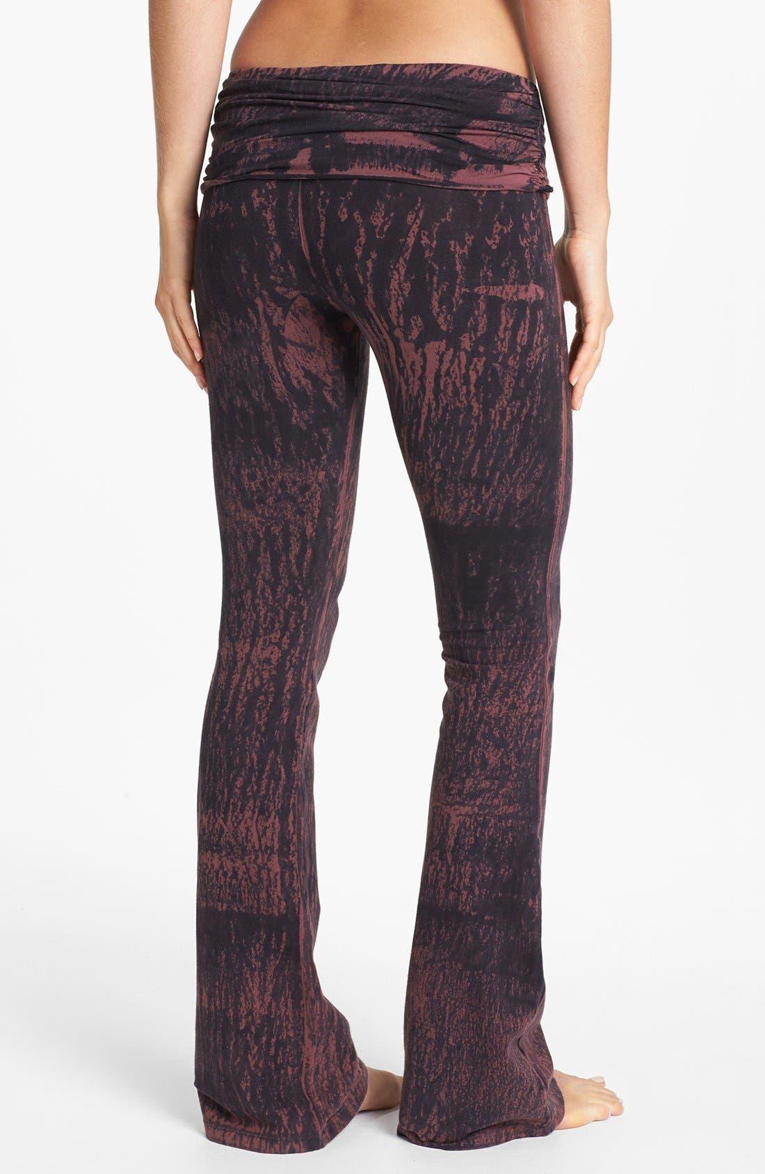Alternate Image 2  - Omgirl 'Printmakers Wash' Organic Cotton Pants