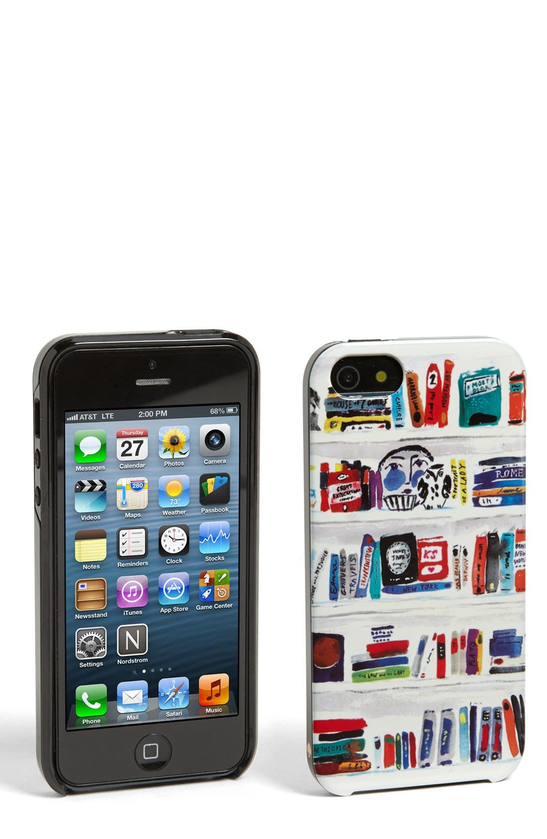 Main Image - kate spade new york 'literary bookshelf' iPhone 5 & 5S case