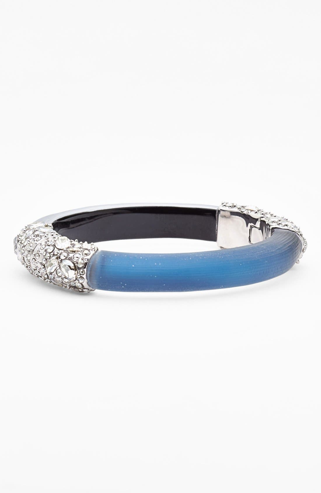 Alternate Image 1 Selected - Alexis Bittar 'Lucite® - Winter Deco' Small Hinged Bangle