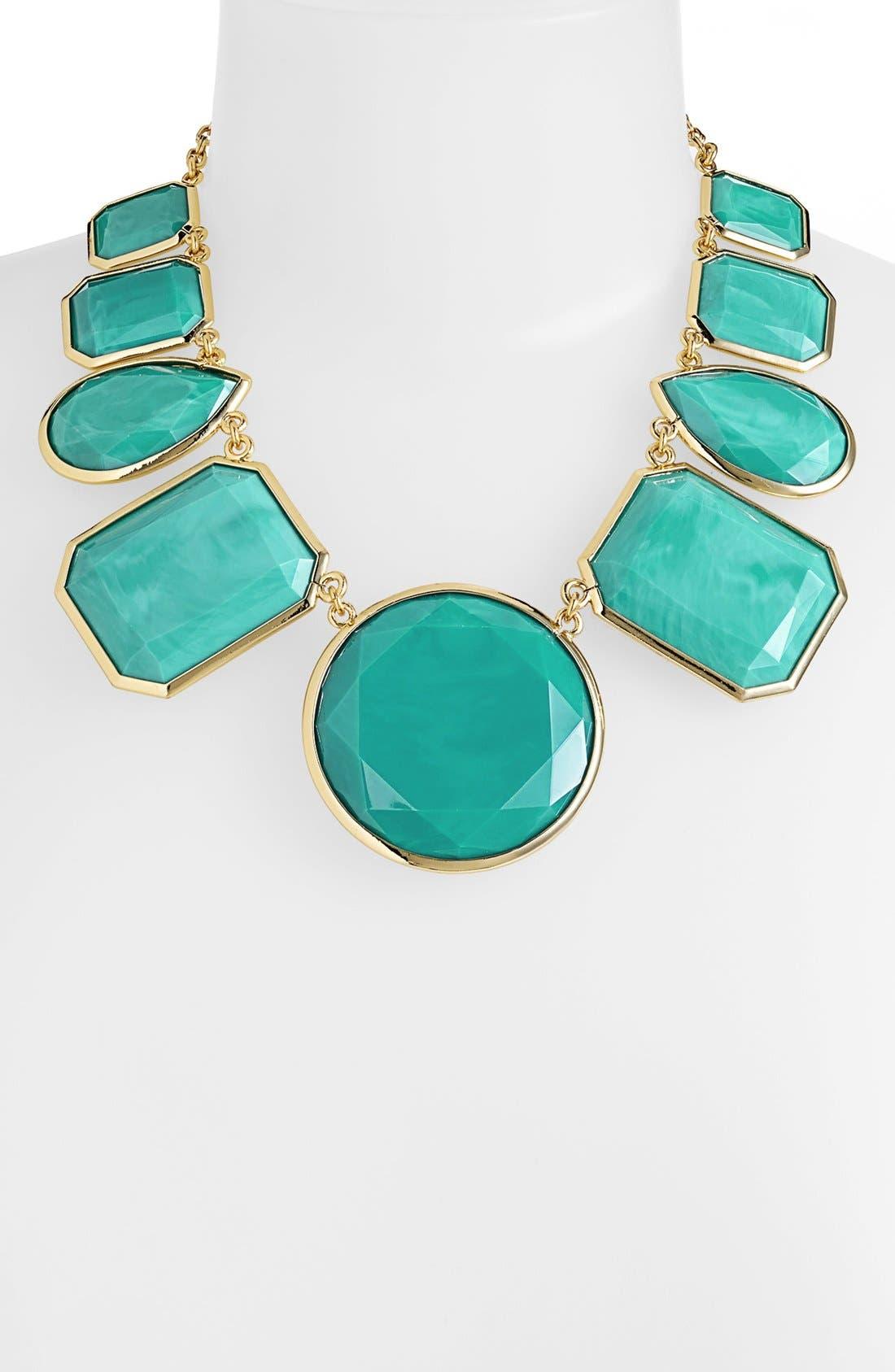 Alternate Image 2  - kate spade new york 'swirl around' graduated stone necklace