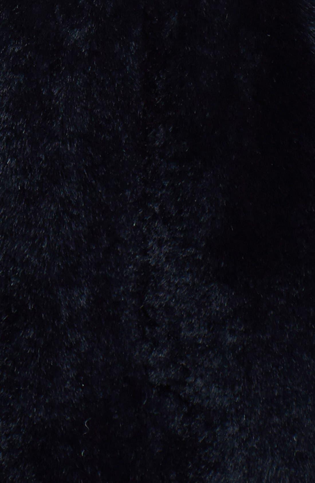 Alternate Image 3  - Chosen Furs Reversible Rabbit Fur & Lambskin Leather Vest