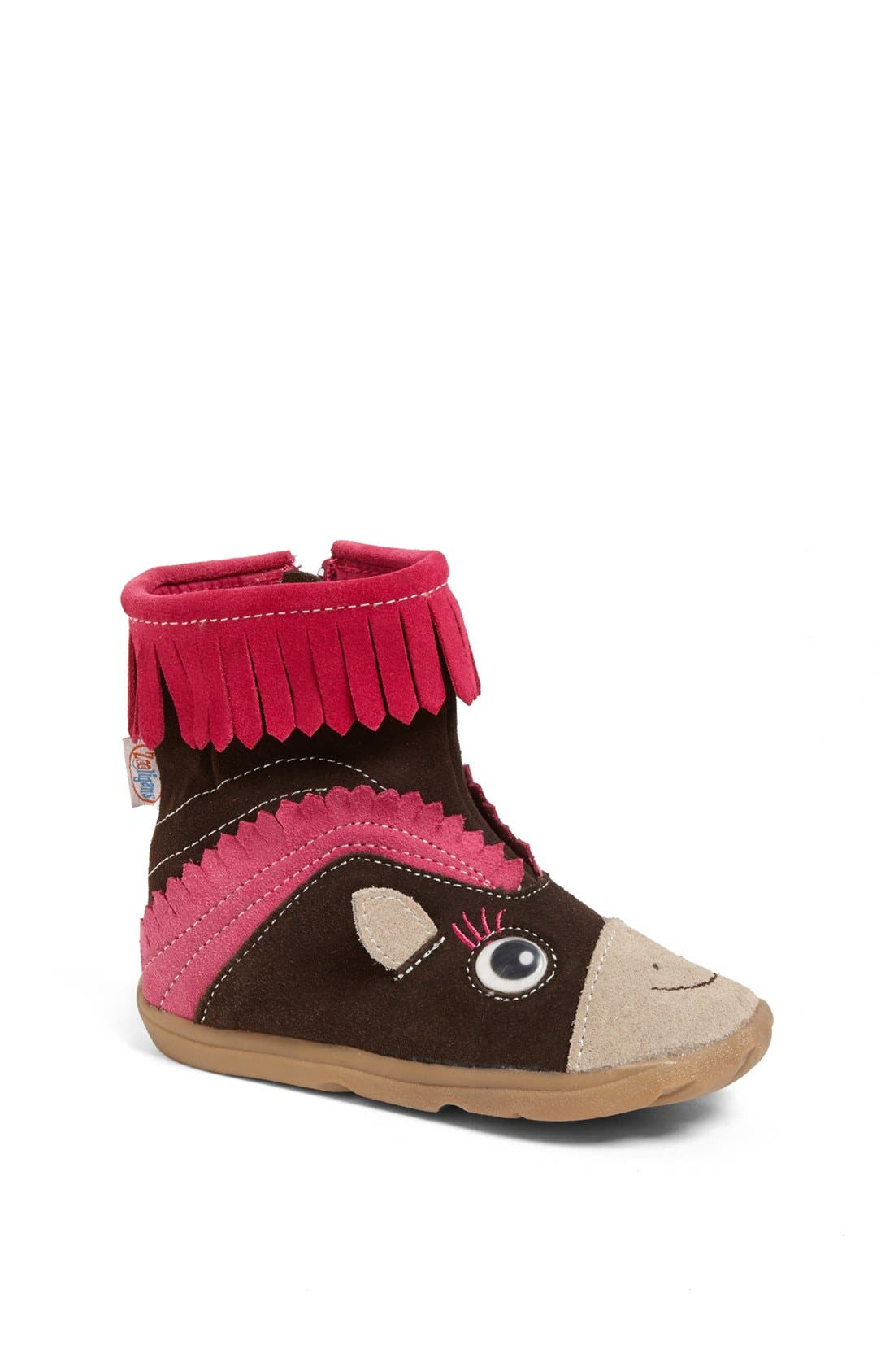 Alternate Image 1 Selected - Zooligans 'Paloma the Pony' Boot (Baby, Walker, Toddler & Little Kid)