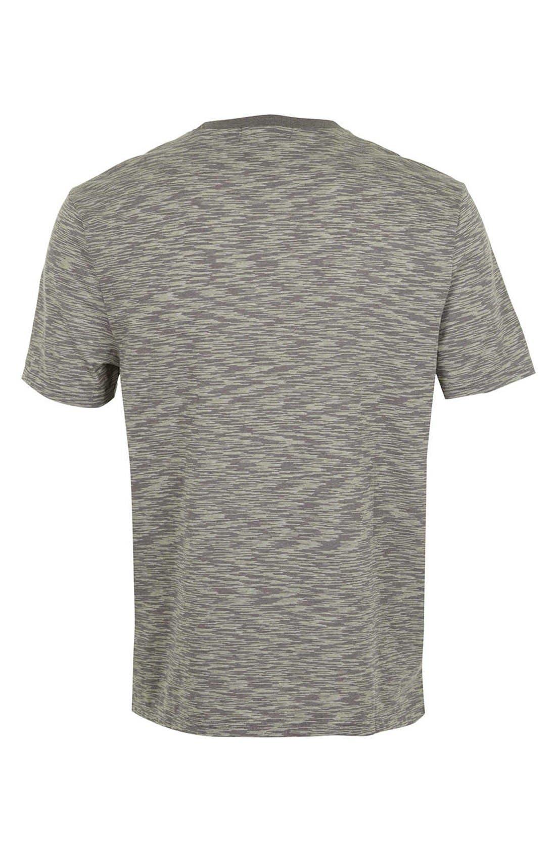 Alternate Image 2  - Topman Space Dye T-Shirt