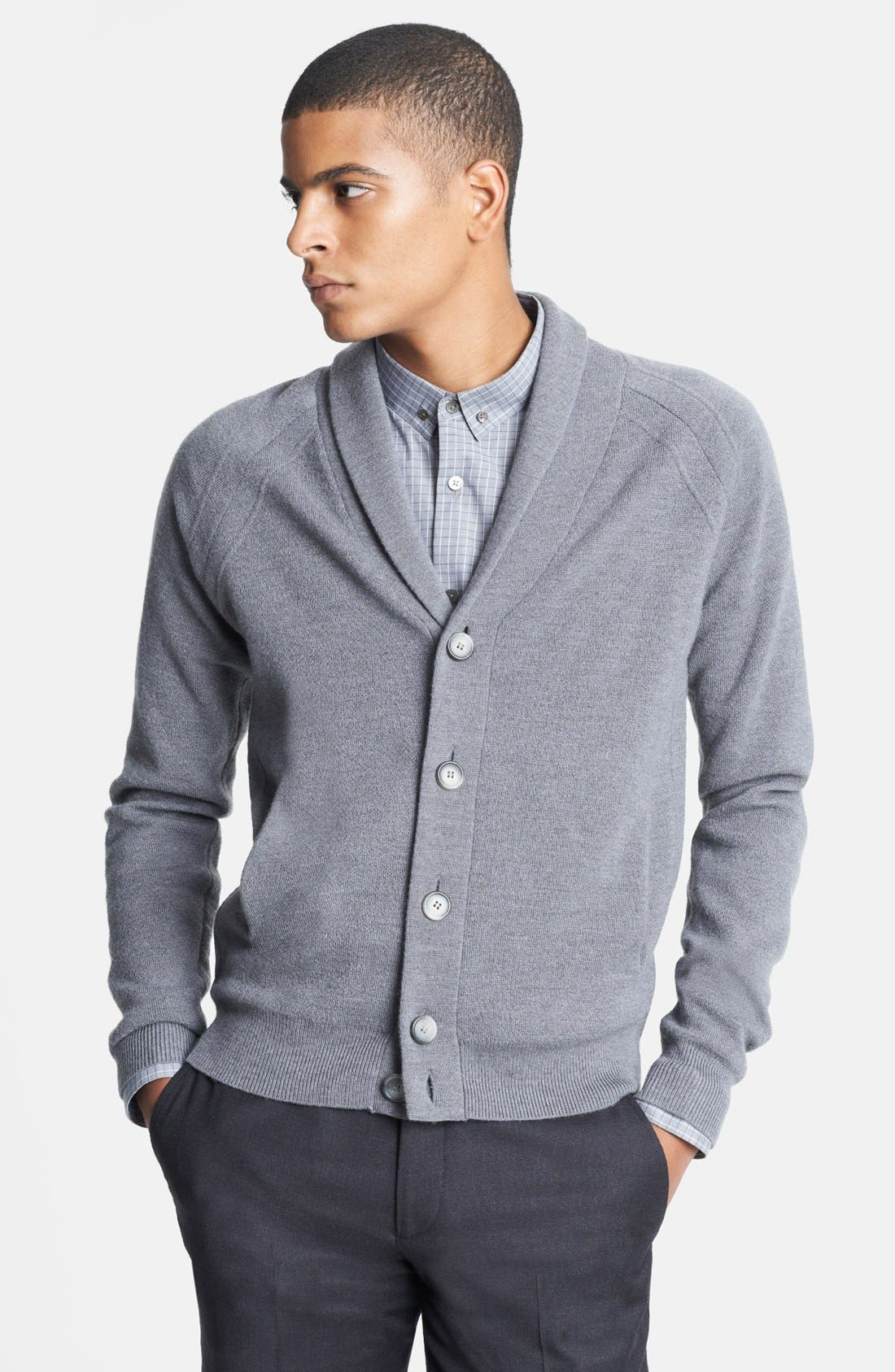 Alternate Image 1 Selected - Theory 'Adan' Wool Sweater