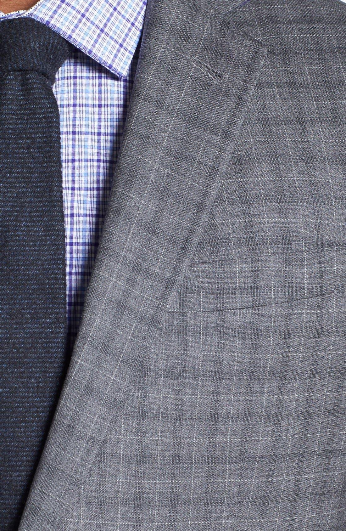 Alternate Image 5  - Ted Baker London 'Jones' Trim Fit Check Suit