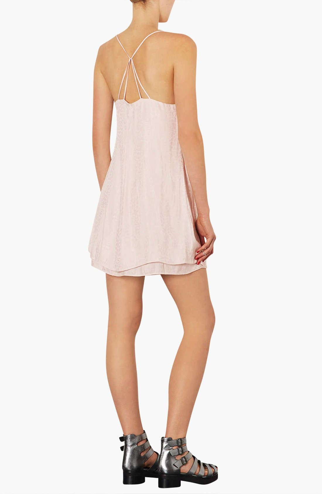 Alternate Image 2  - Topshop Satin Slipdress