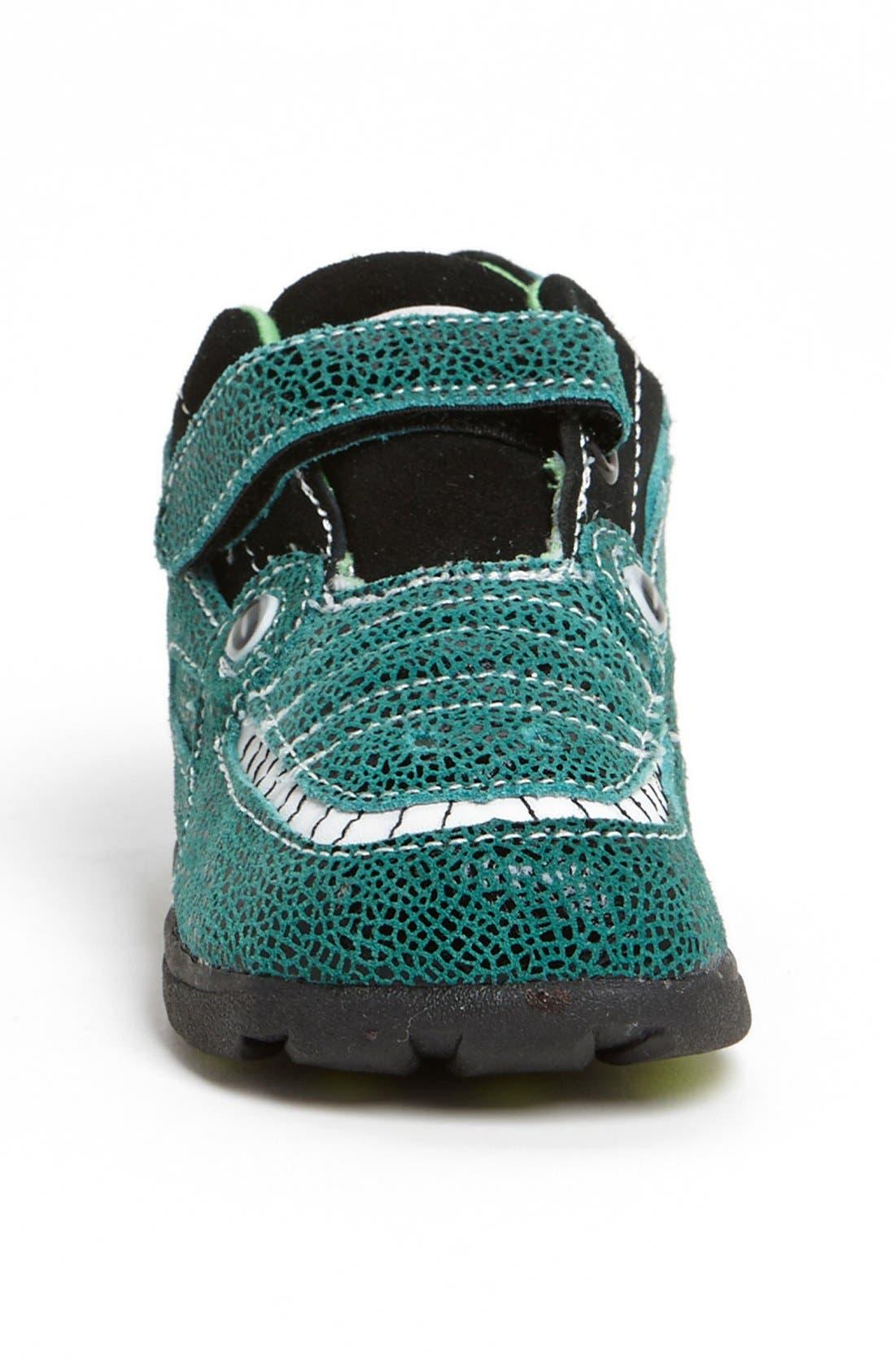 Alternate Image 3  - Zooligans™ 'Jacques the Gator' Sneaker (Baby, Walker, Toddler & Little Kid)