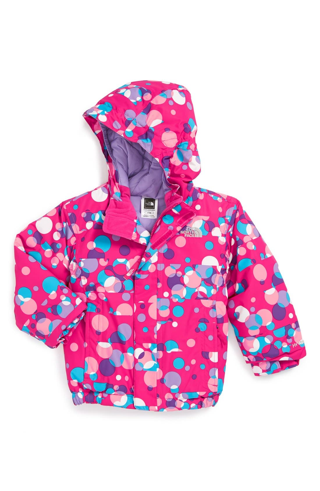 Alternate Image 1 Selected - The North Face 'Chimmy' Insulated Jacket (Toddler Girls)