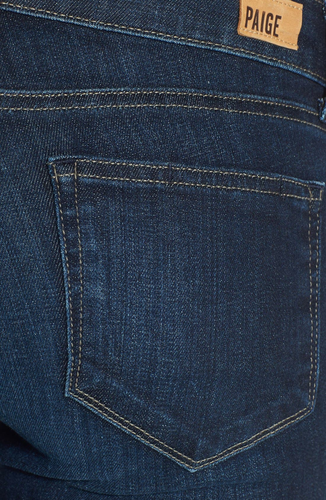 Alternate Image 3  - Paige Denim 'Manhattan' Baby Bootcut Jeans (Trinity)