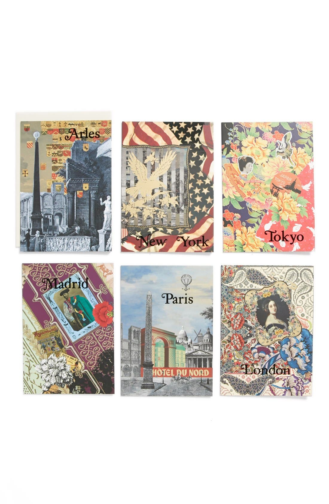 Main Image - Christian Lacroix 'Voyage' Boxed Note Cards (Set of 6)