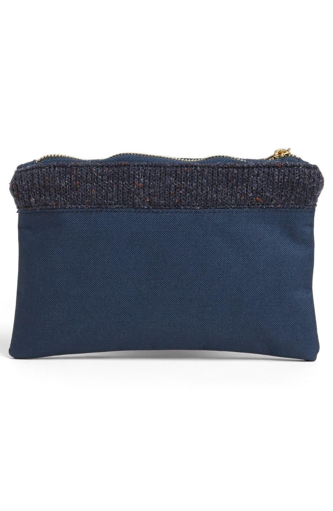 Alternate Image 3  - Herschel Supply Co. Knit Trim Field Pouch