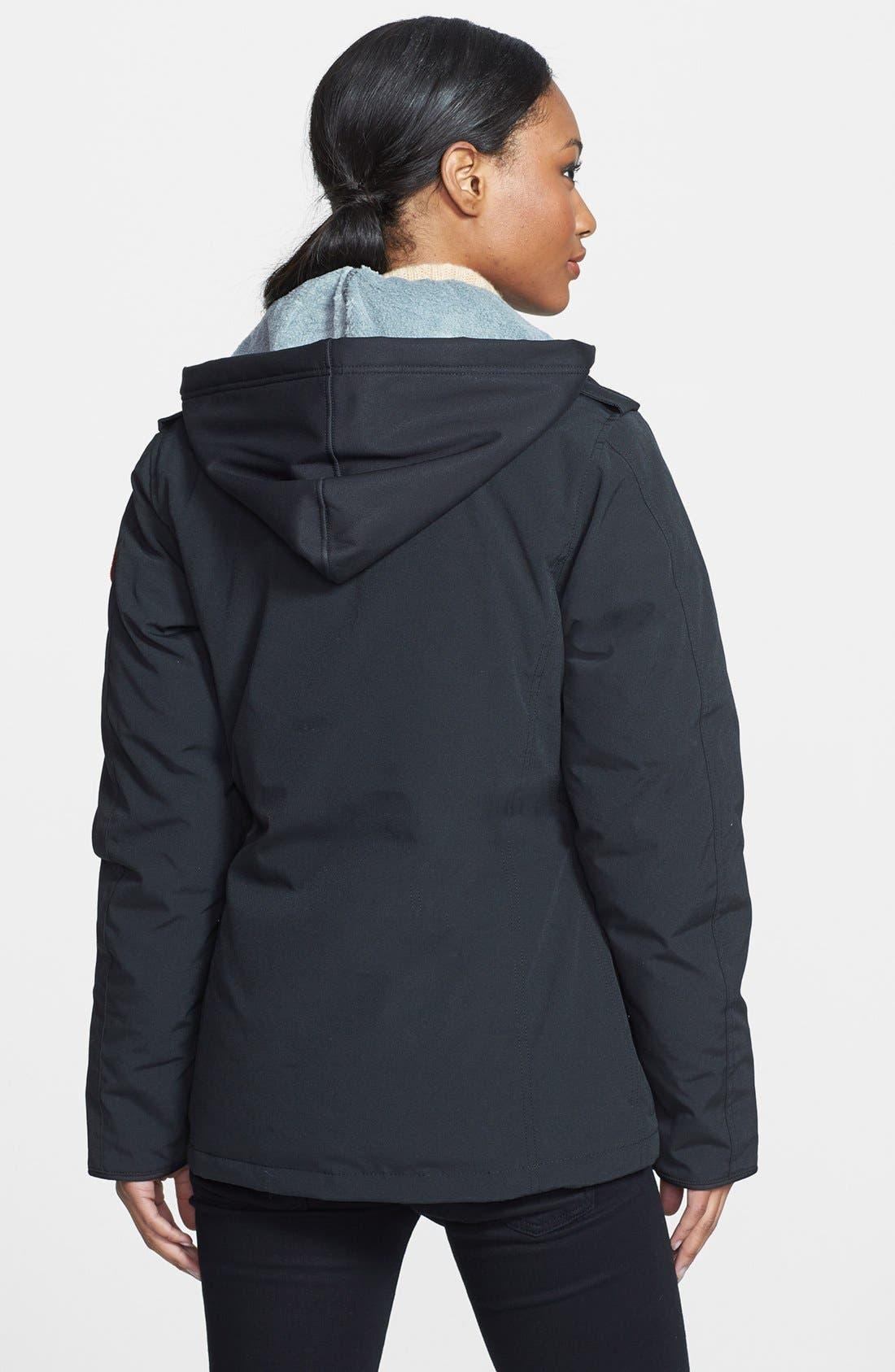 Alternate Image 2  - Canada Goose 'Burnett' Down Jacket with Removable Hood