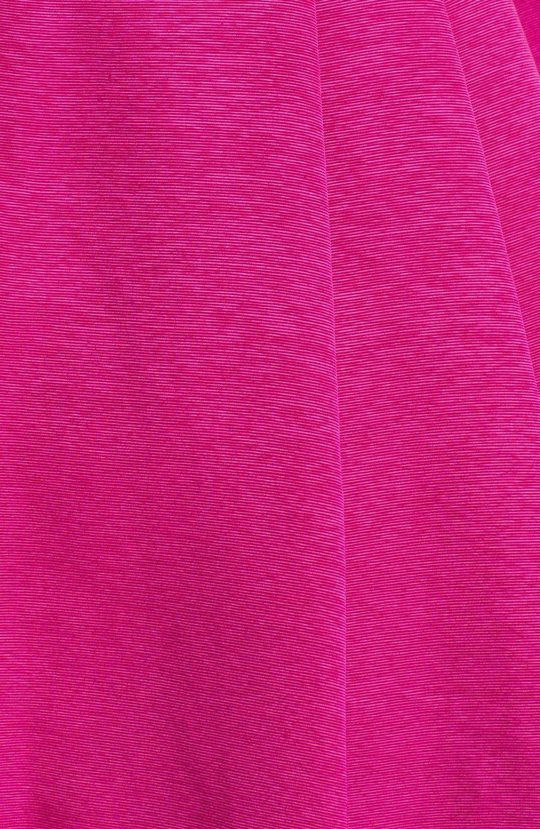 Alternate Image 3  - Eliza J Mixed Media Fit & Flare Dress