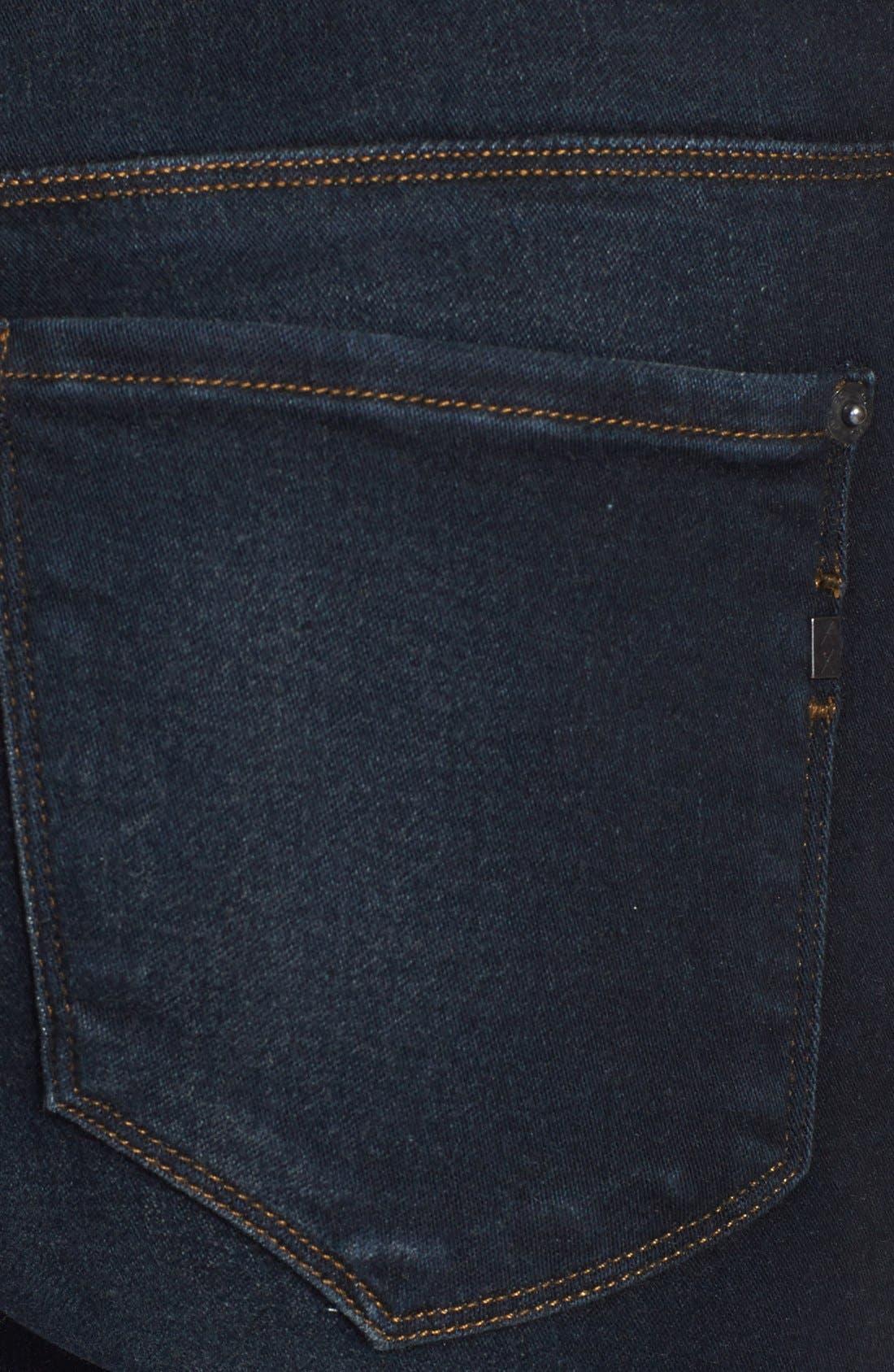 Alternate Image 3  - Genetic 'The Stem' Cigarette Skinny Jeans (Nomad)