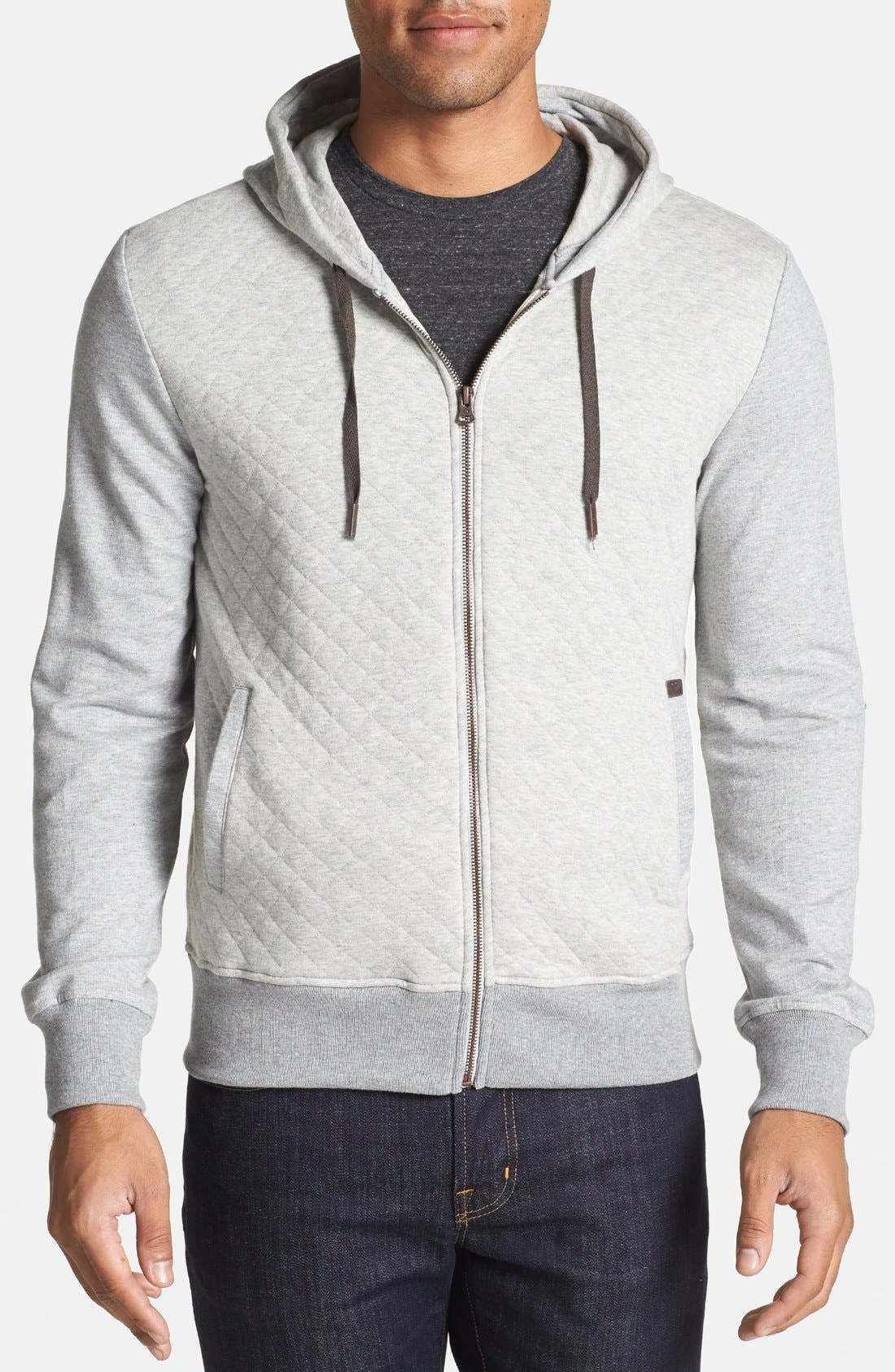 Alternate Image 1 Selected - Antony Morato Full Zip Hoodie