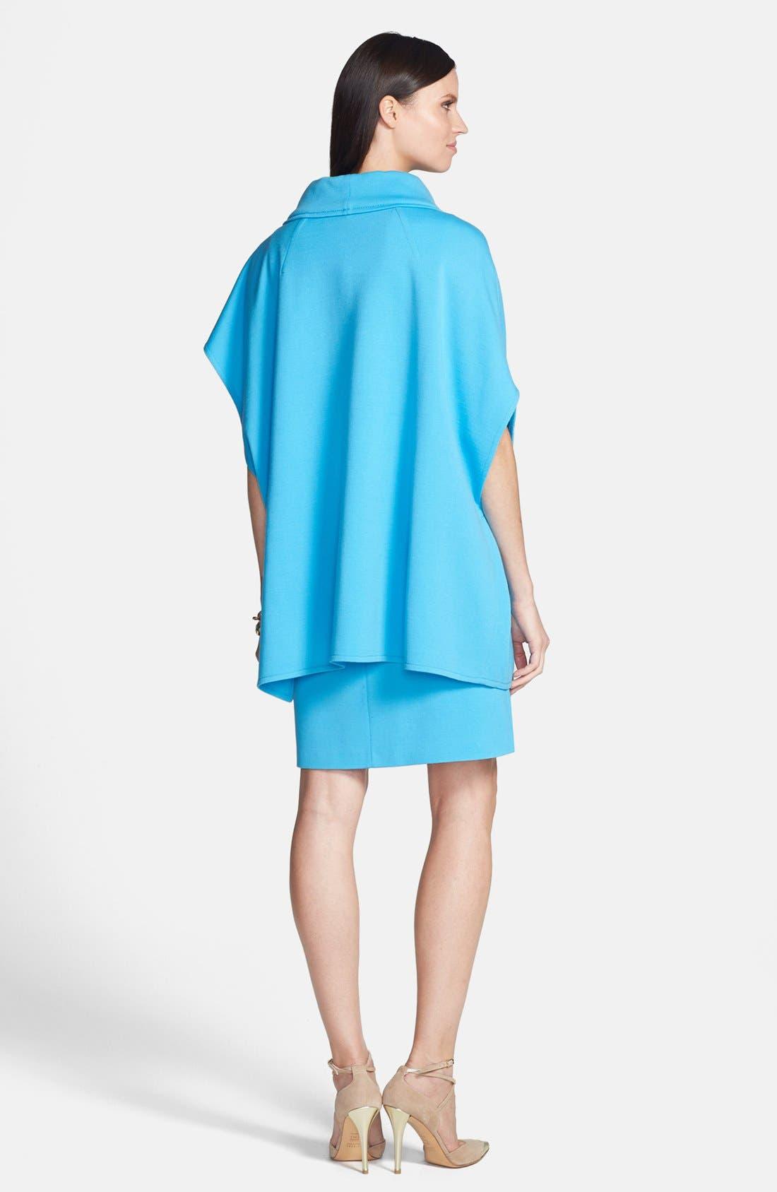 Alternate Image 5  - St. John Collection Milano Knit Jewel Neck Trapeze Dress