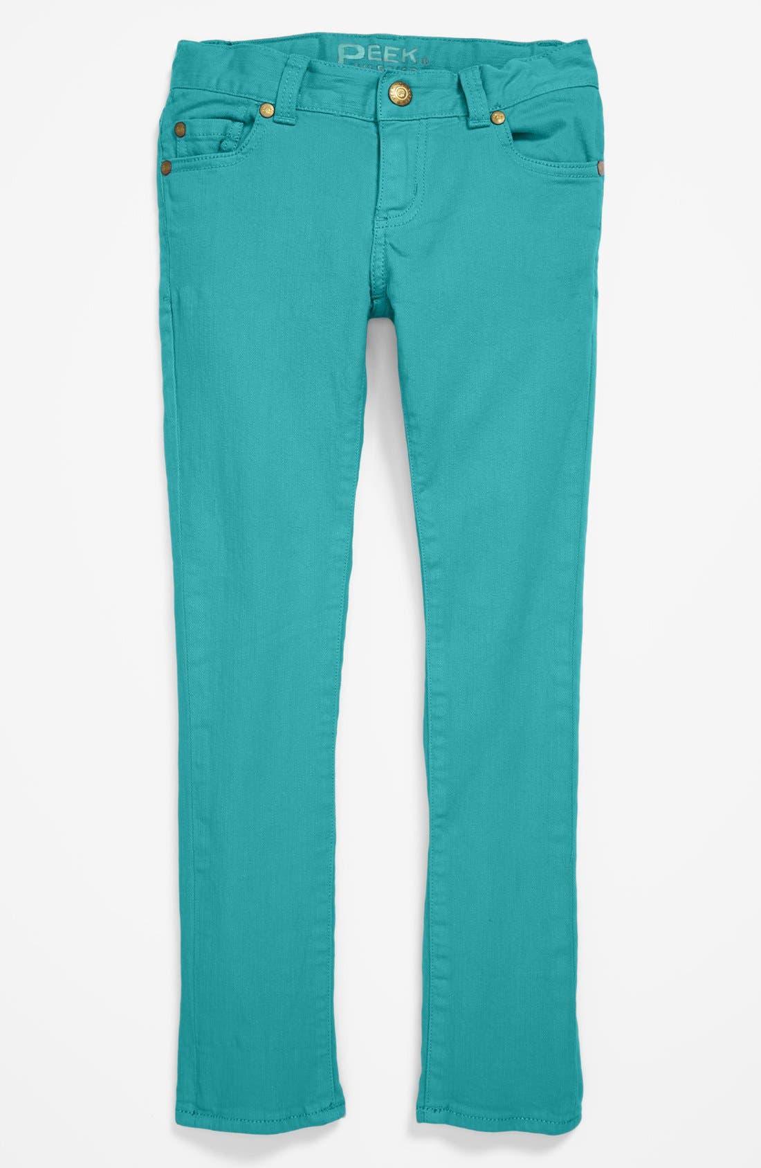 Alternate Image 2  - Peek 'Margot' Skinny Jeans (Toddler Girls, Little Girls & Big Girls)