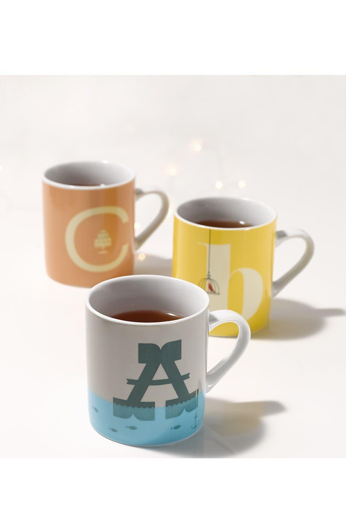 Alternate Image 2  - Magpie Alphabet Mug