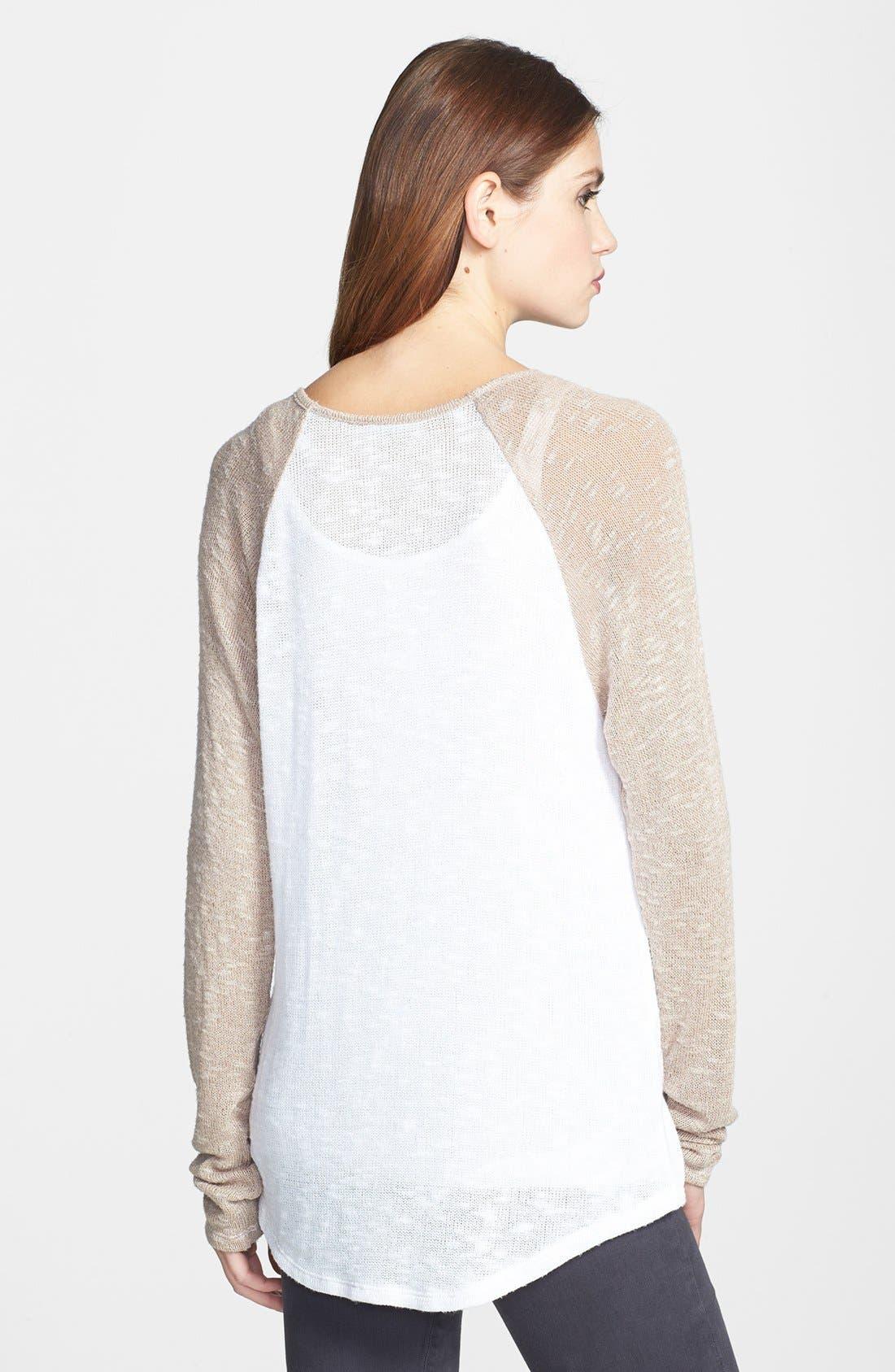 Alternate Image 2  - C & C California Raglan Sleeve Sweater