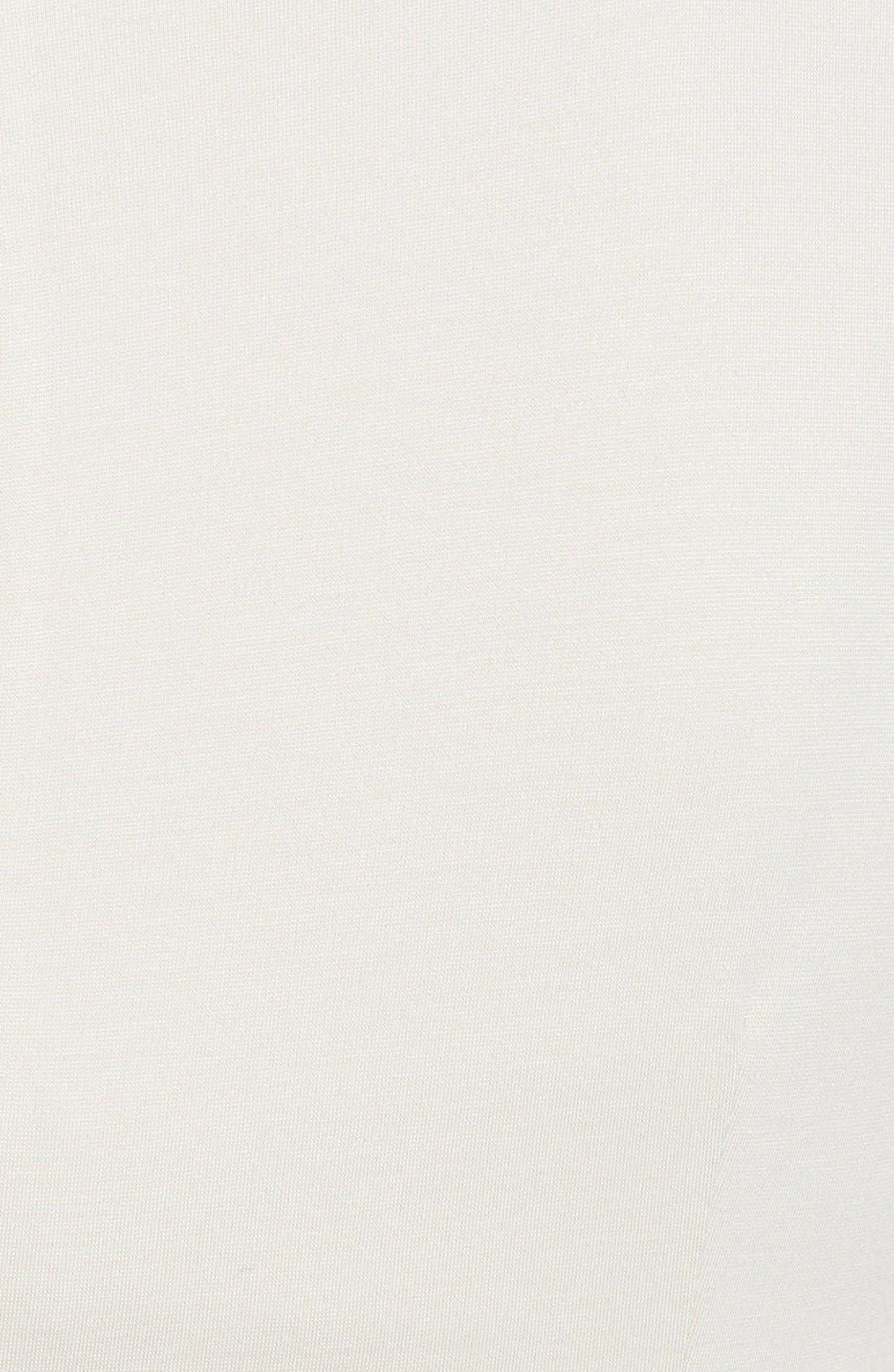 Alternate Image 3  - Adrianna Papell Inverted Pleat Ponte Sheath Dress