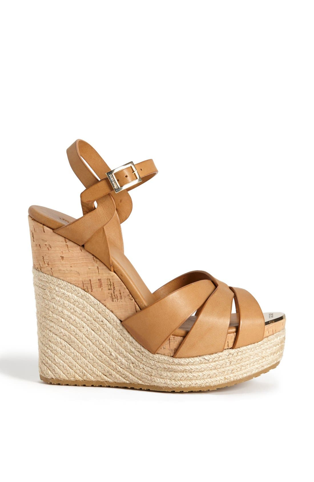 Alternate Image 4  - Jimmy Choo 'Peddle' Wedge Sandal