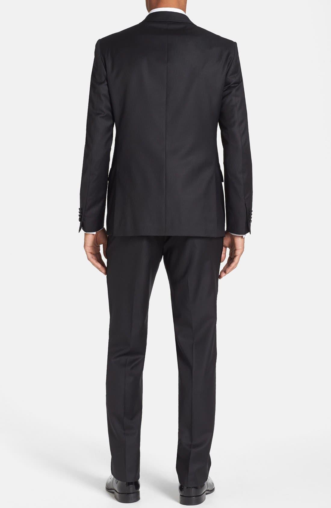 Alternate Image 2  - Michael Kors Trim Fit Wool Tuxedo