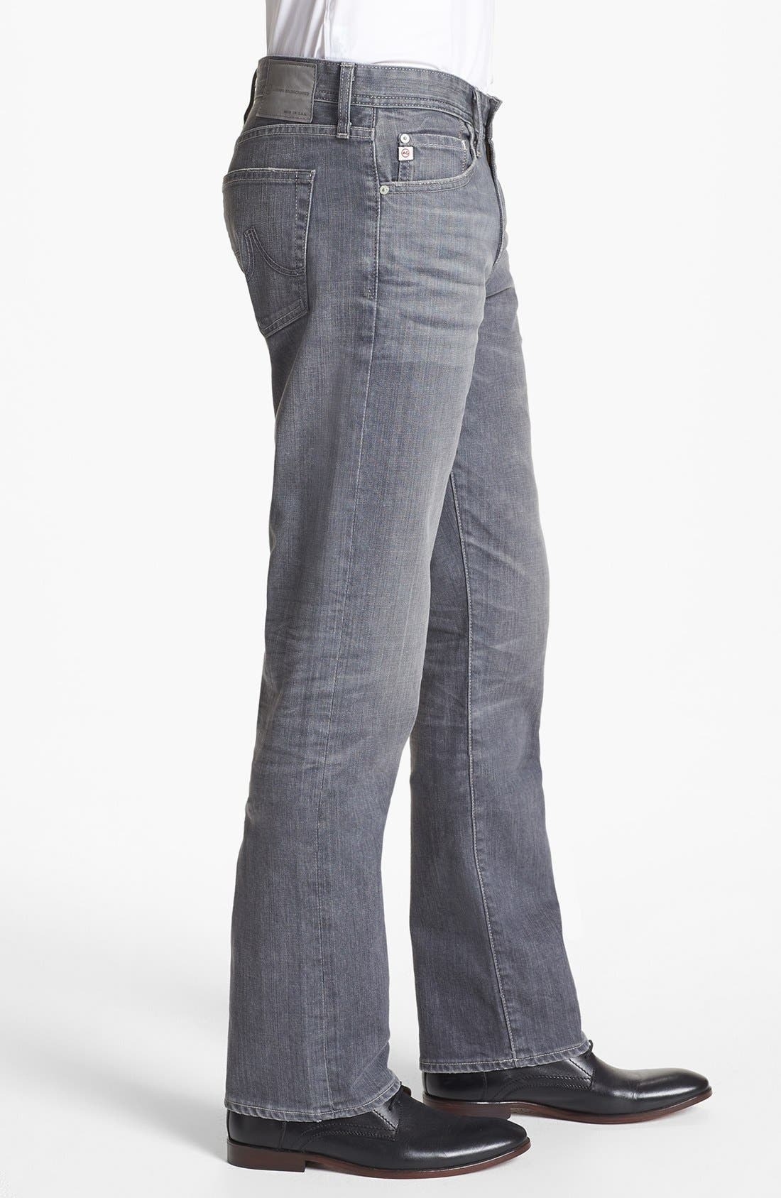 Alternate Image 3  - AG 'Protégé' Straight Leg Jeans (9 Years Grey)