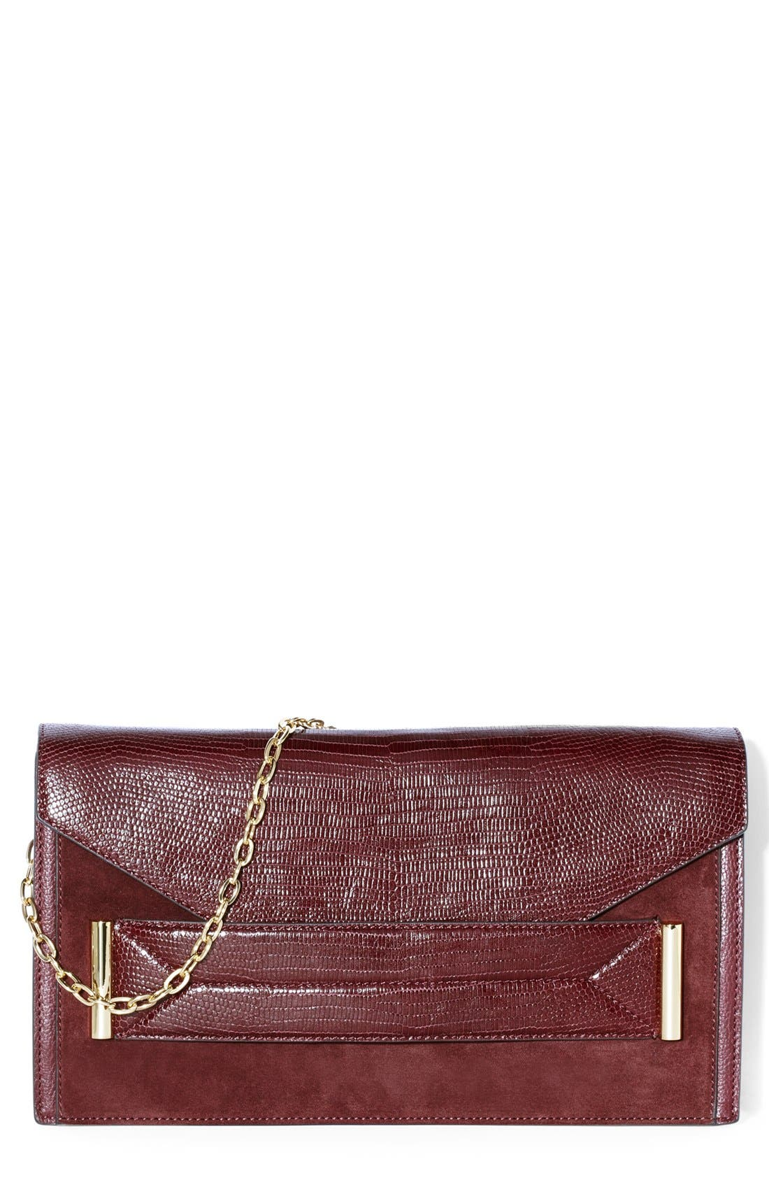 Alternate Image 1 Selected - Vince Camuto 'Billy' Leather Clutch