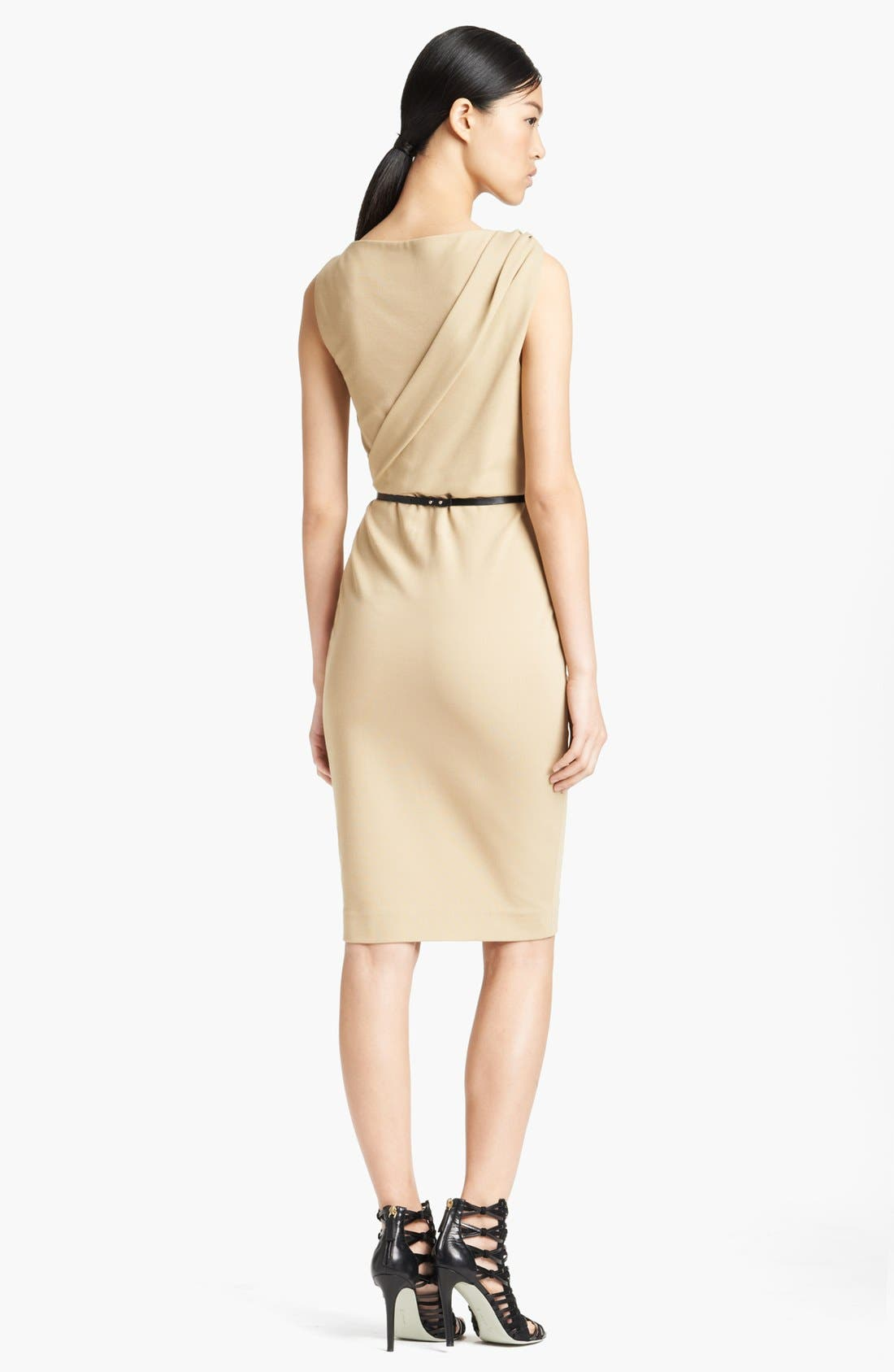 Alternate Image 2  - Jason Wu Ponte Jersey Sheath Dress