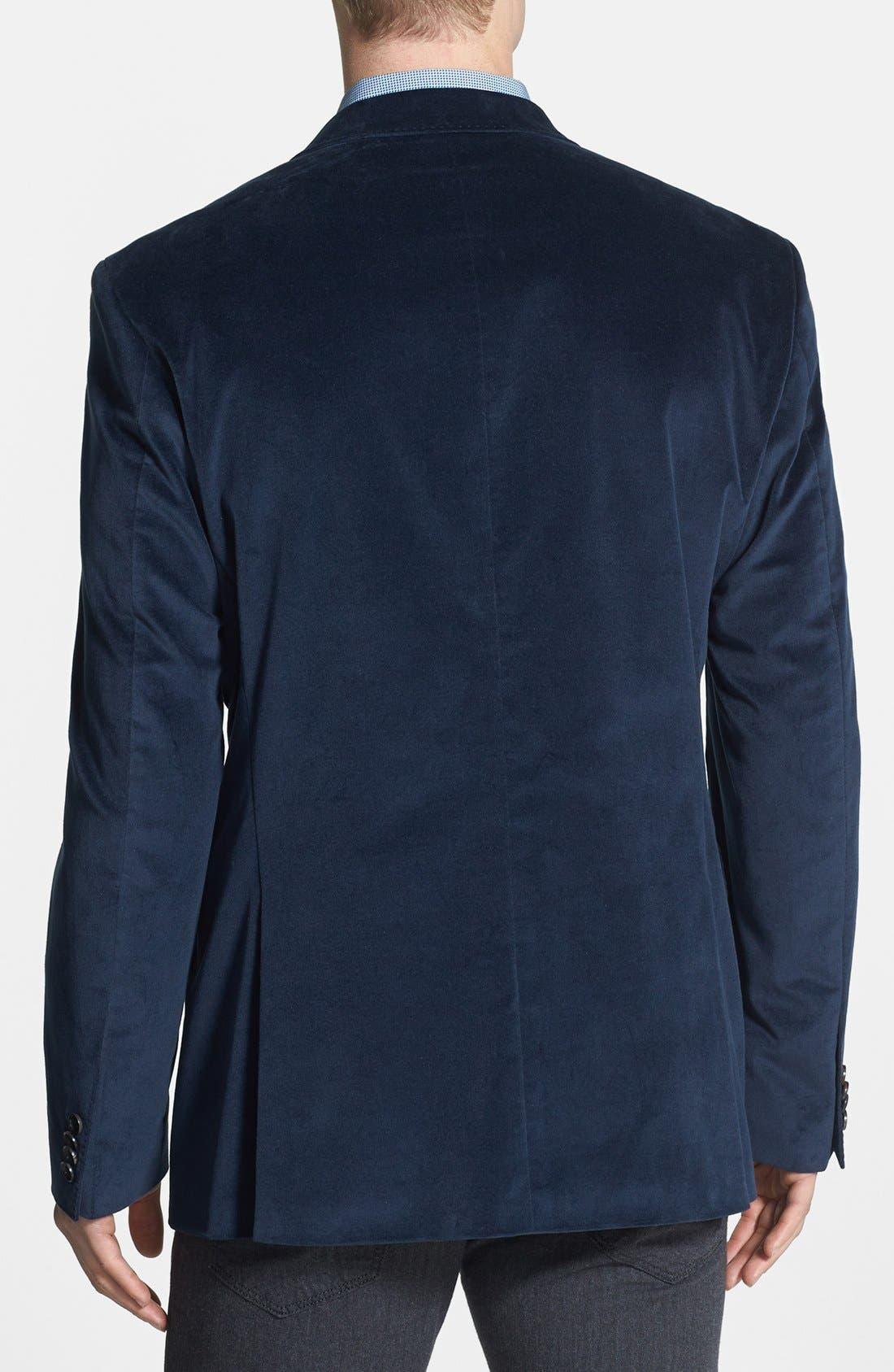 Alternate Image 2  - BOSS HUGO BOSS 'The Coast Us' Stretch Cotton Sportcoat