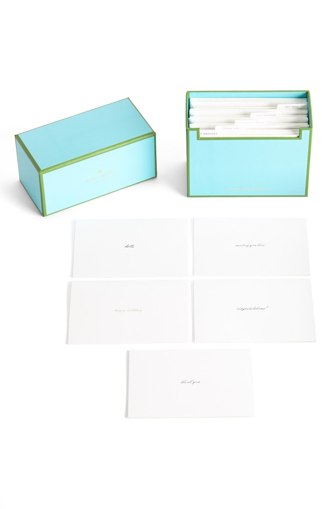 Main Image - kate spade new york 'all occasion' note cards (set of 15)