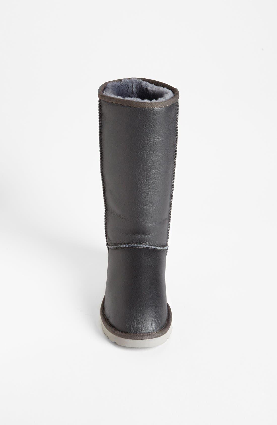 Alternate Image 3  - UGG® Australia 'Classic Tall Metallic' Boot (Women)